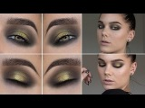 Gold Black Eye (with subs) - Linda Hallberg Makeup Tutorials