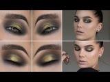 Gold Black Eye (with subs) - Linda Hallberg Makeup Tutorials