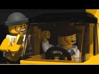 Мультфильмы Лего Сити - большая погоня (Lego City)