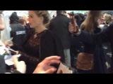 Элис на премьере фильма Стартрек: Возмездие в Москве