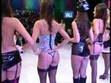 Juliana Salimeni y el desfile de modelos