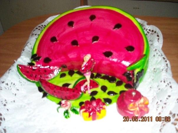 Торты тортики изделия из мастики на