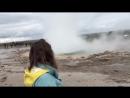 Вот и увидела я своими глазами гейзеры 😳это и правда впечатляет 🙈 Сильно мощно горячо гейзры исландия красиво впервыйраз
