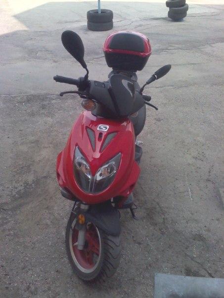 скутер тактик 50 электросхема