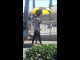 [FanCam #1 ] THe Heirs BTS Lee MinHo at Huntington Beach in CA