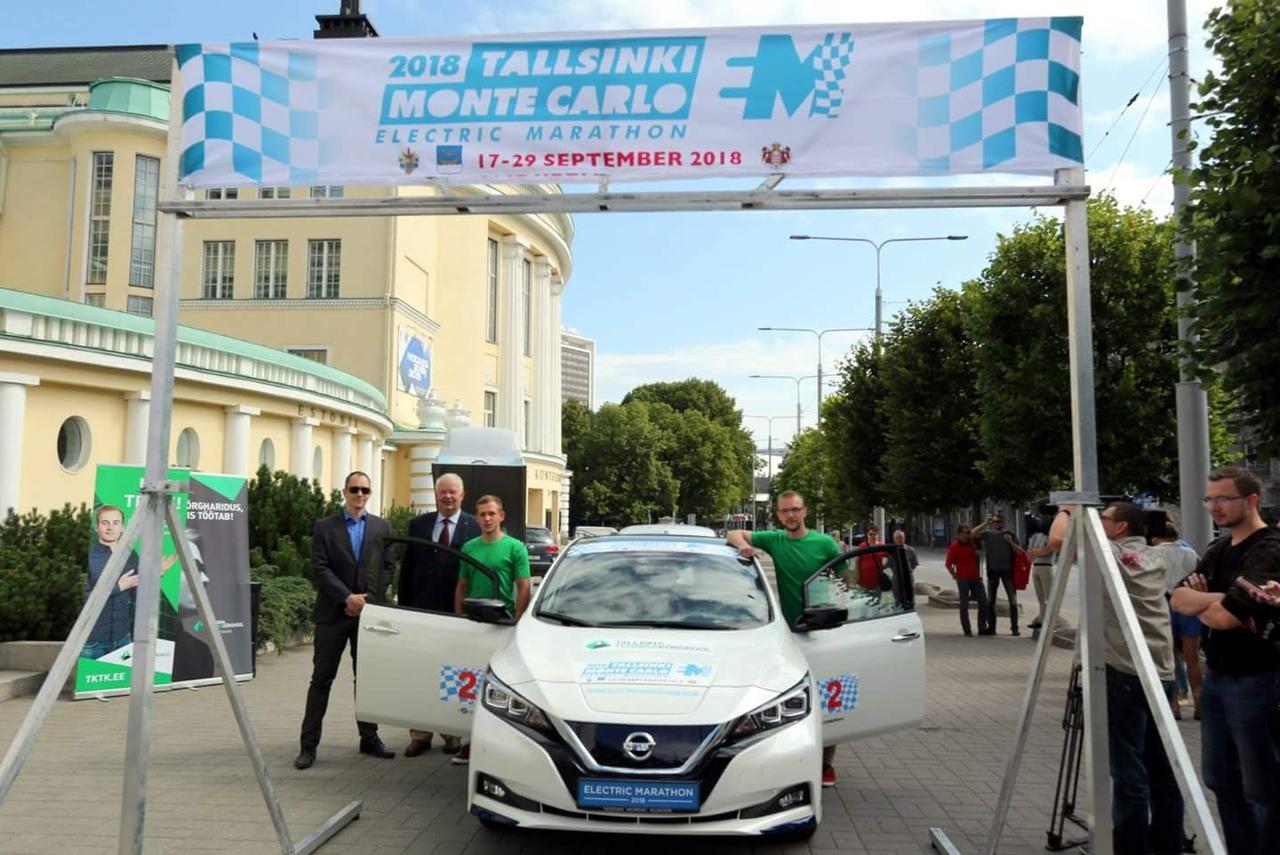 Через Советск пройдет колонна ралли на электромобилях «Таллин-Монако»