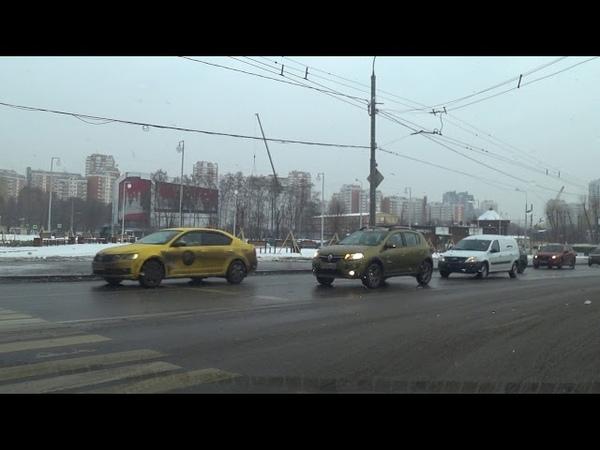 Пяловский экзаменационный маршрут ГИБДД (2 вариант) февраль 2019