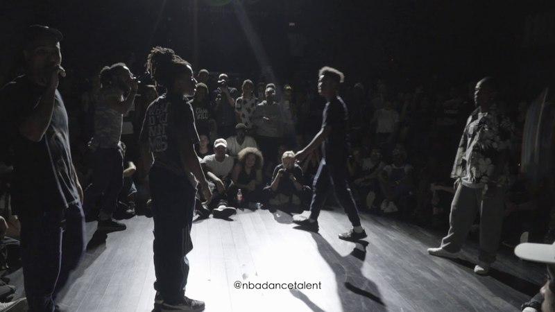 Evion Diablo VS Lil Blade Fabbreezy - FINAL - NBA Dance Battle 2018