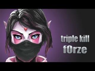 f0rze (triple kill) templar assassin