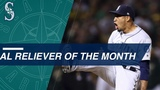 Diaz named American League Reliever of The Month