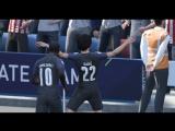 FIFA18 Акробатический гол Лероя Сане с углового