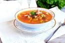 Суп на курином бульоне с цветной капустой