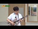 25/08/18 Ha Hyunwoo @ Knowing Bros cut with Yoon Dohyun performing parts of Mirror Guckkasten and Peppermint Candy YB