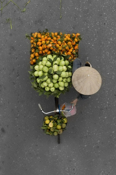 Торговцы Вьетнама в фотографиях Loes Heerin