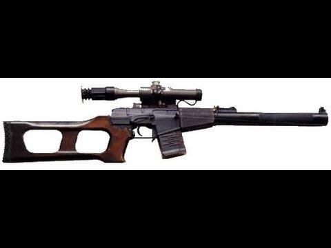 Оружие Спецназа.Винтотовка Снайперская Специальная.(ВСС Винторез)