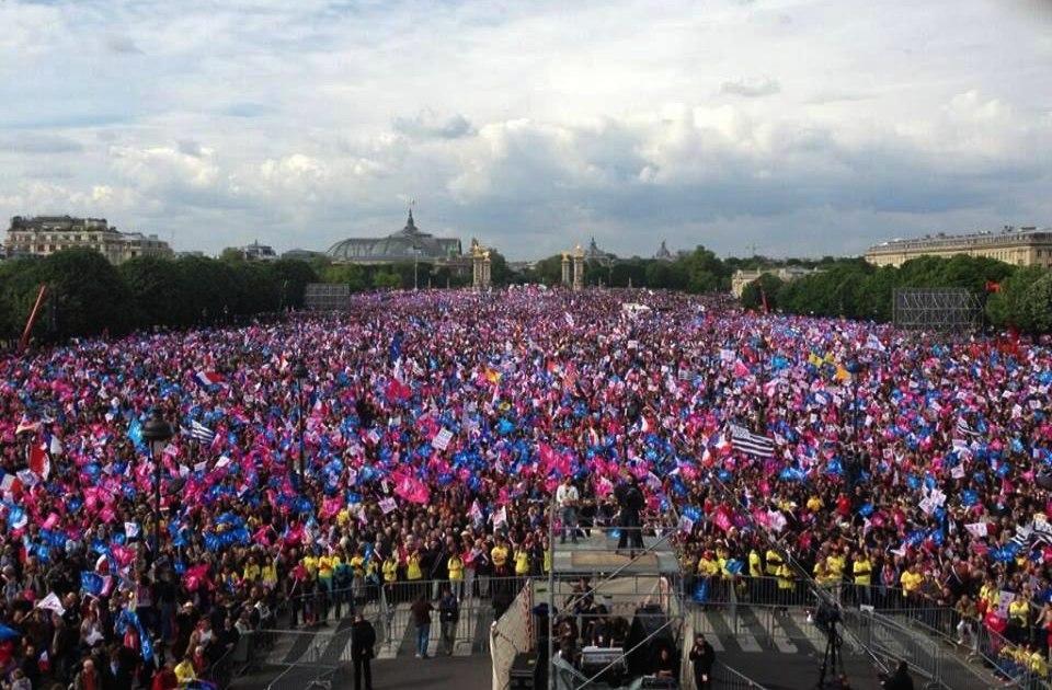 Масові протести у Франції