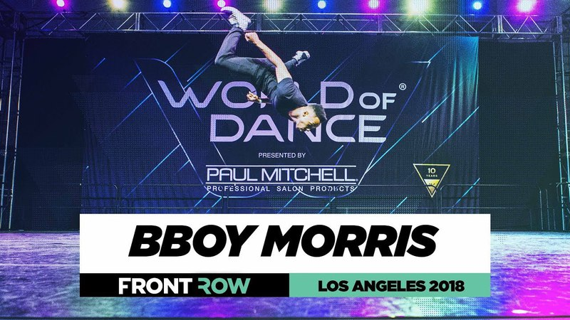 Bboy Morris | FrontRow | World of Dance Los Angeles 2018 | WODLA18