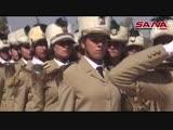 11.10.16 - Церемония выпуска курсанток женского военного училища Дамаска