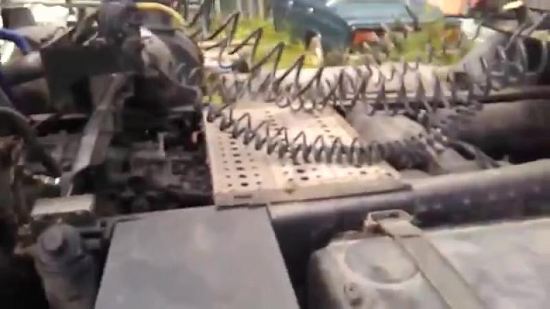 Маз 6430 с двигателем DAF