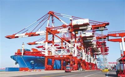 Общий объем экспорта и импорта китайских товаров в первые два месяца 2