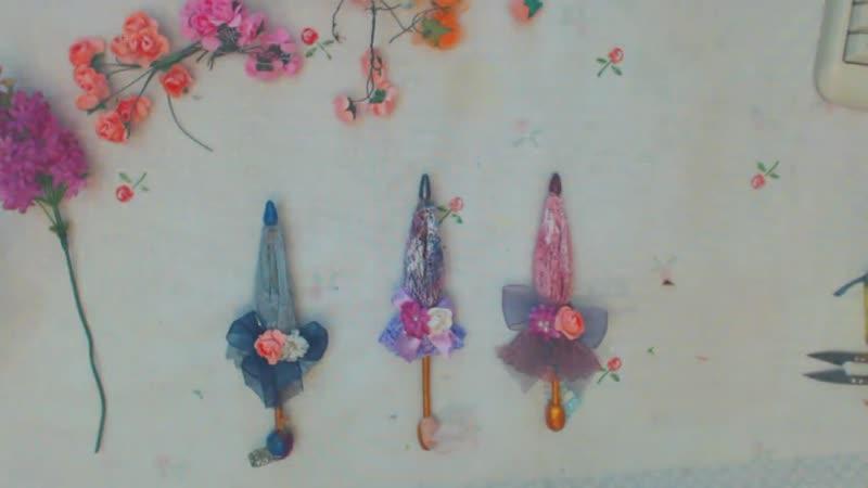 Зонтик своими руками. Как сделать зонтик для куклы из ткани hacer paraguas para munecas