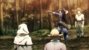 Yoichi showing the elfs how it's done