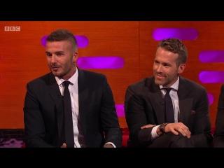 The Graham Norton Show 23x06 - David Beckham, Josh Brolin, Vanessa Kirby, Ryan Reynolds, Joan Armatrading