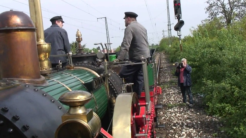175 Jahre Deutsche Eisenbahn - Fahrt mit dem Adler - Jubiläumsfahrt Nürnberg-Fürth 2010