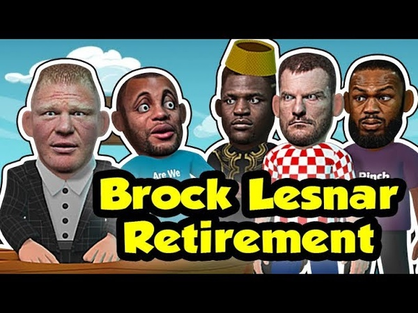 Brock Lesnar leaves DC for Stipe jones Francis after announcing RETIREMENT