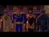 «Лига Справедливости: Кризис двух миров» (2010): Трейлер