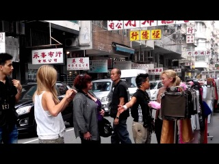 Transformers 4 filming in HK - Nicola Peltz, Sophia Myles, Titus Welliver