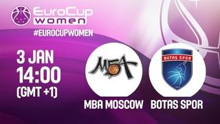 LIVE 🔴 - MBA Moscow v Botas Spor - Play-Off Rd. 1 - EuroCup Women 2018-19