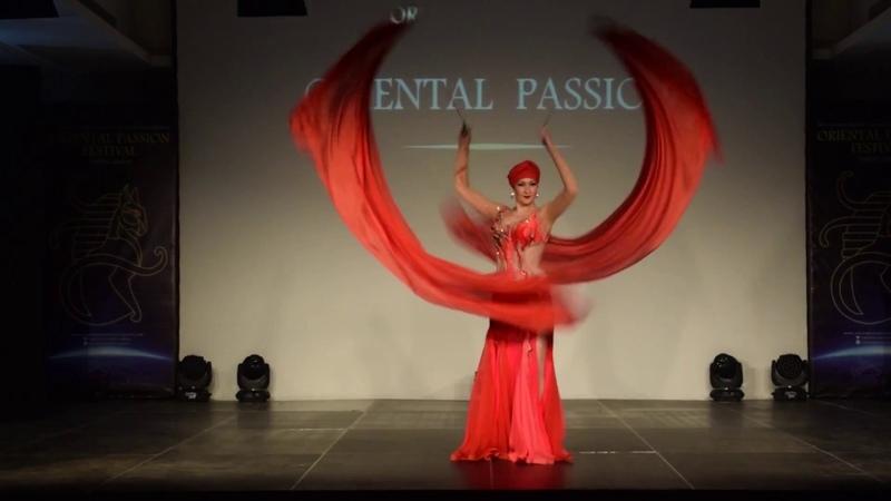 Delanna - Voi Dance at Oriental Passion Festival Opening Gala 2017, Greece