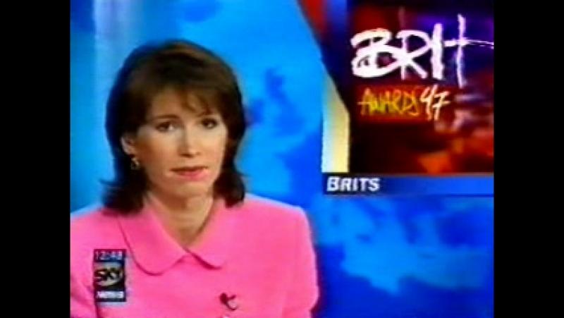 Spice Girls - Brit Awards 1997 - Sky News 24.02.1997