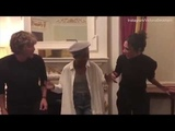 Victoria Beckham dances with lead actress from Tina Turner musical