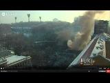 25.01.2014 прямая трансляция майдан онлайн бойня грушевского Live Stream ukraine revolution maidan