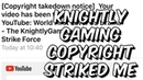 Knightly Gaming Copyright Striked My Channel Because I Hurt His Feelings - Marvel Strike Force