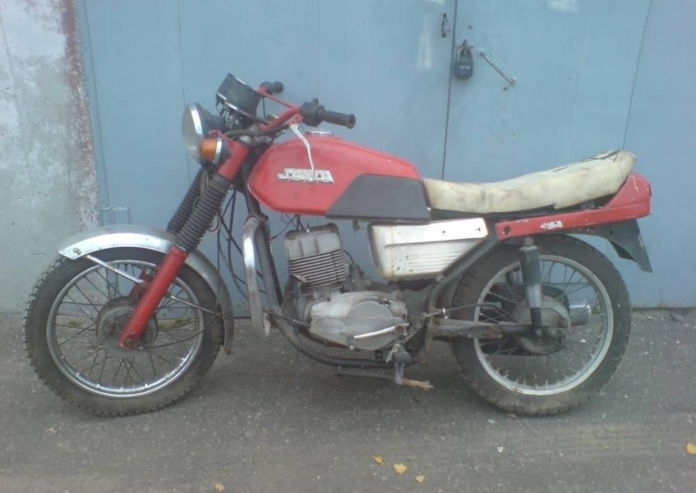 Мотоцикл Jawa 350-638 гв 1989