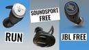 Jaybird Run vs Bose SoundSport Free vs JBL Free | Best True Wireless Earbuds