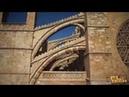Cathedrale de Palma de Majorque vue par drone