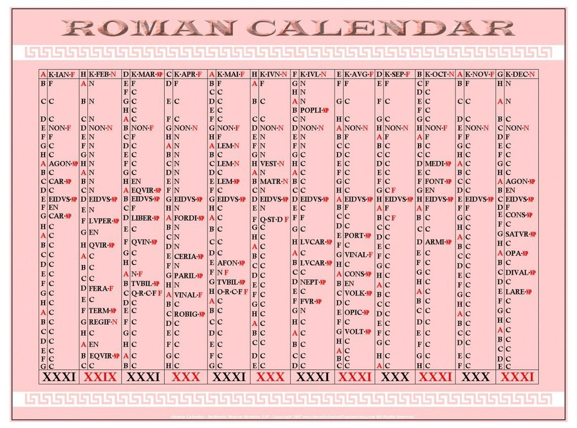 the day of valor on the fourth month of the roman calendar essay The earliest roman calendar appears to have been see julian calendar roman days of the month the romans had a complicated way of stating what day of the month.