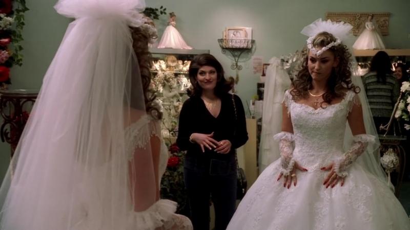 Клан Сопрано S04E07 09 Адриана готовится к свадьбе и обламывается