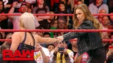 Ronda Rousey makes short work of Dana Brooke Raw Exclusive, March 19, 2018