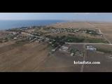 Село Марьино Черноморский район Крым 2015 с высоты птичьего полета