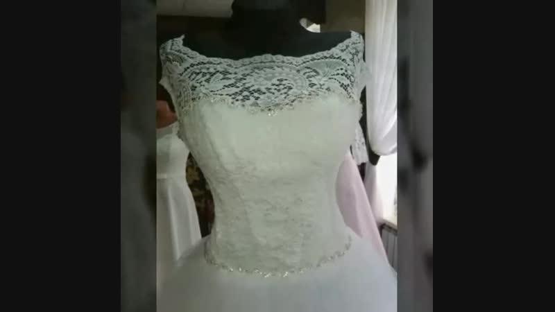 Лайк ♥️😘новое поступление Свадебных платьев классические модели, пышные, свадебные платья с завышенной талией под животик 😍 Огро