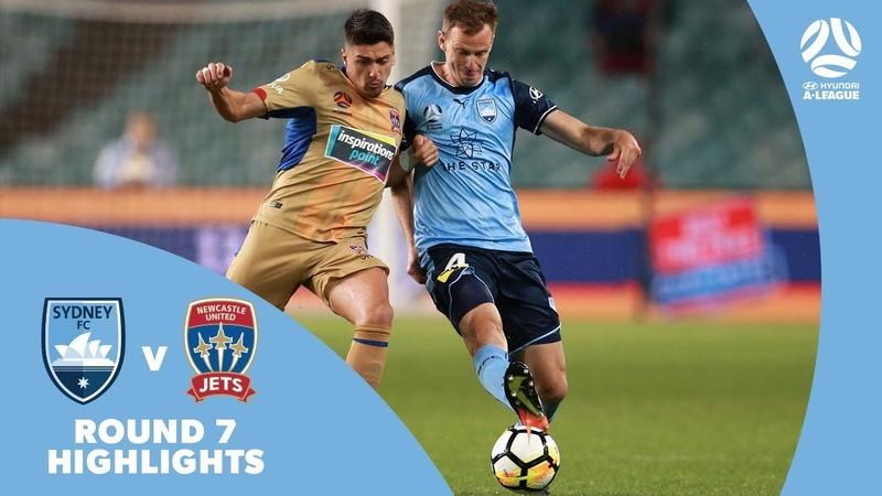 Hyundai A-League 201718 Round 7 Sydney FC 2 - 1 Newcastle Jets