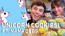Making Unicorn Cookies with My Mum *NANA DEBS* I Tom Daley