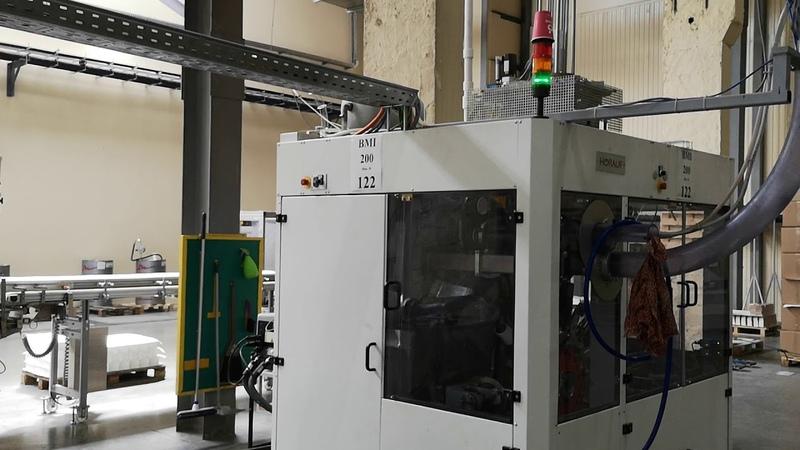 Производство двухслойный бумажных стаканов Papperskopp