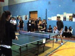 Настольный теннис (соревнования). Вторая наша игра (09.04.2014). Мы - Они - 2:0