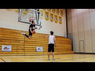 Jordan Kilganon, one of the world's best dunkers   On Point Basketball